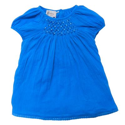 Robe bébé Charlotte, Turquoise