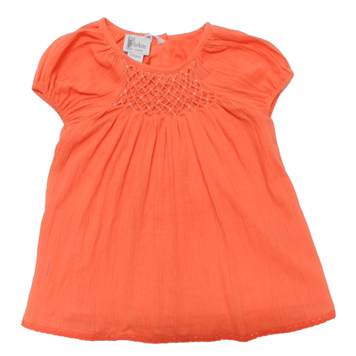 Robe bébé Charlotte, Orange
