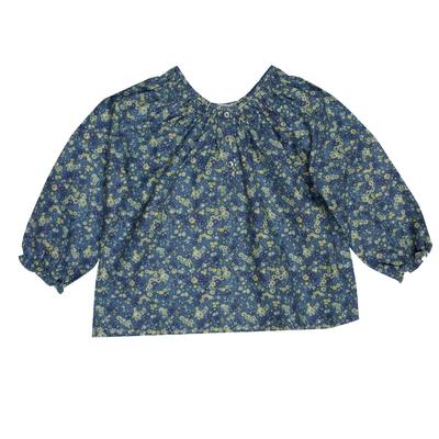 Blouse Smockée Monet Bleu