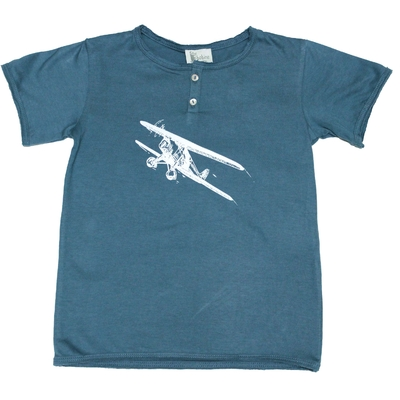 T-Shirt Tunisien Palace Blue Avion<br>Existe uniquement en 10 ans<br>