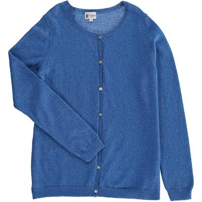 Cardigan - Bleu à paillettes