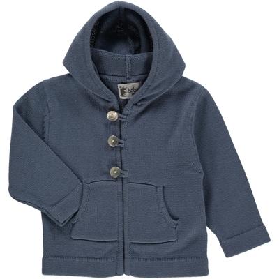 Veste à poches et capuche - Country blue