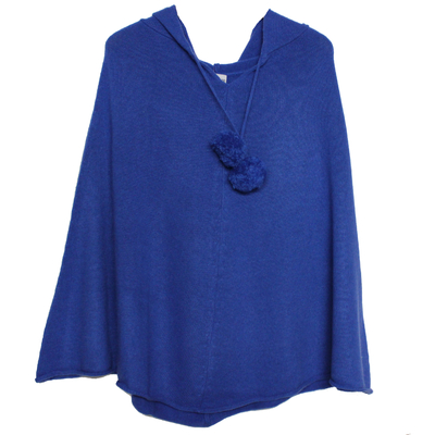 Poncho à Capuche - Bleu France