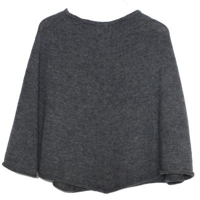 Poncho fille - Gris