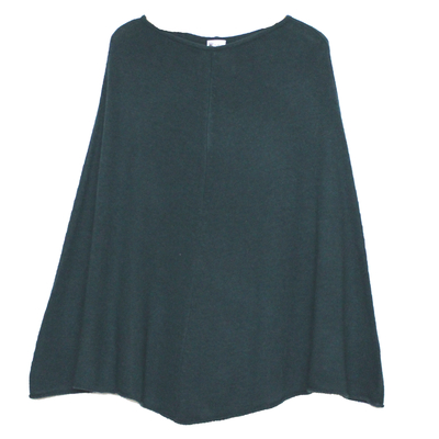 Poncho Femme - Vert Bouteille