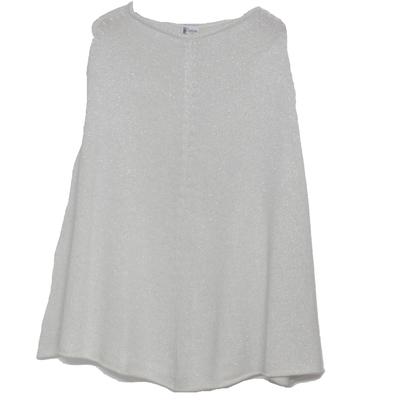 Poncho Femme - Pailleté Blanc