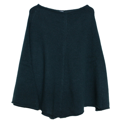 Poncho fille - Vert Bouteille