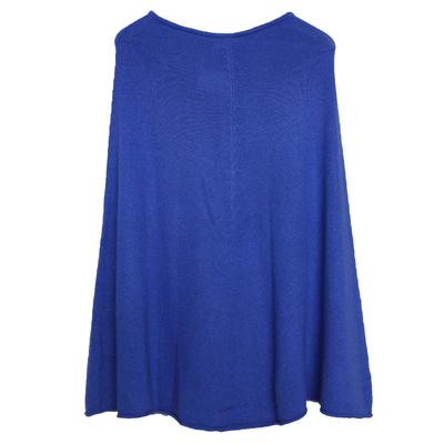 Poncho Femme - Bleu