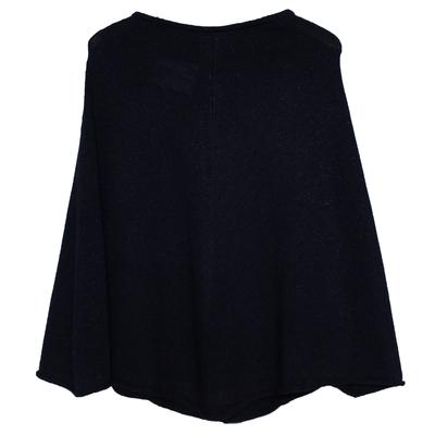 Poncho fille - Pailleté Noir