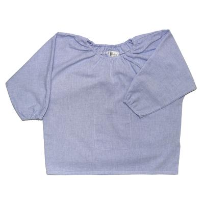 Blouse école maternelle - Bleu Jean