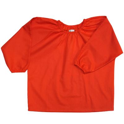 Blouse école maternelle - Orange