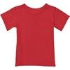 tshirt garçon rouge dos
