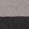 pull bicolore kaki tilleul détail