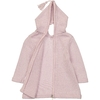 Burnous Zip - Paillete Rose-3