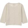 Cardigan BB - Paillete Blanc-2