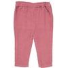 Pantalon Vellours BB Girl - Vieux Rose-2
