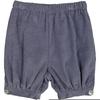 Panty boutons - Bleu jean-1