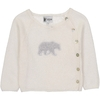 Pull BB Cache-coeur Ours - Blanc-1