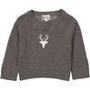 Pull BB Cerf - Taupe-1