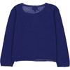 Cardigan Fille - Bleu-2