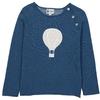 Pull Boutons Montgolfiere - Bleu canard-1