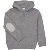 Pull Capuche Zippe - Gris-2