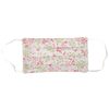 masque-barrière-fleurs roses