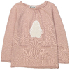 pull-fille-pingouin-rose-poudre
