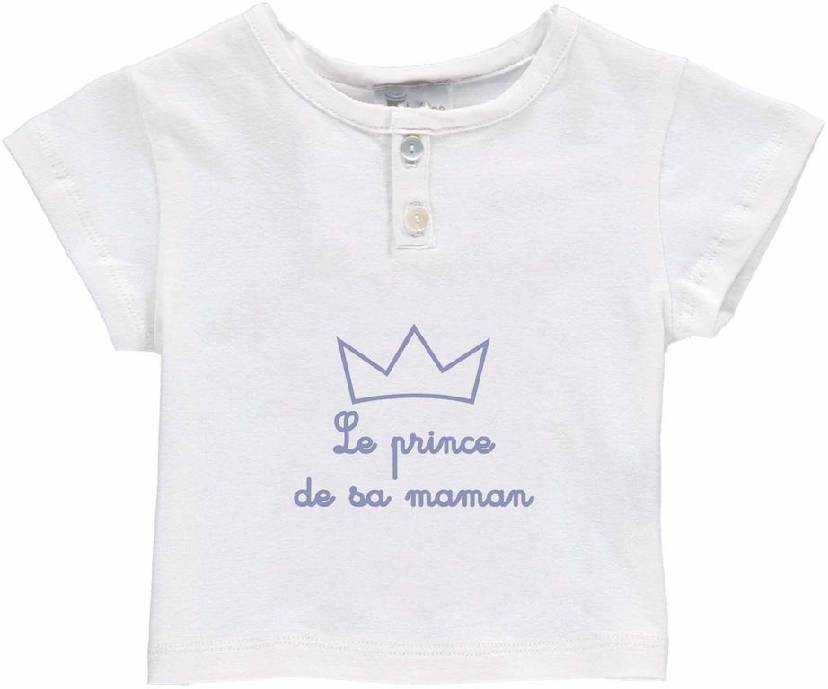 tshirt bb boy prince maman