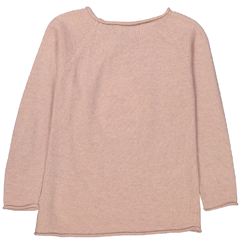 pull-fille-pingouin-rose-poudre-dos