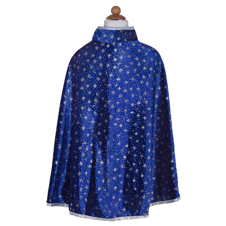 Glitter Wizard set cape and hat adventure costume pretend play dress up great pretenders