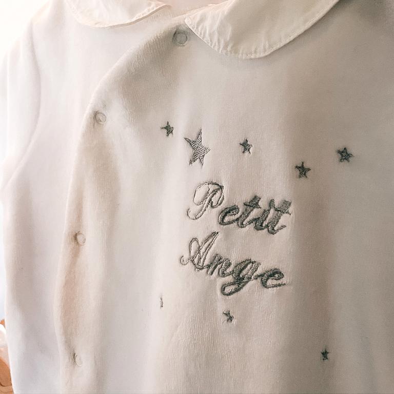 pyjama-petit-ange-argenté