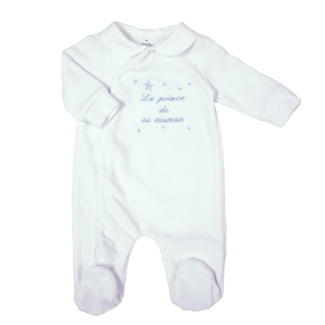 pyjama-bebe-prince-maman-bleu