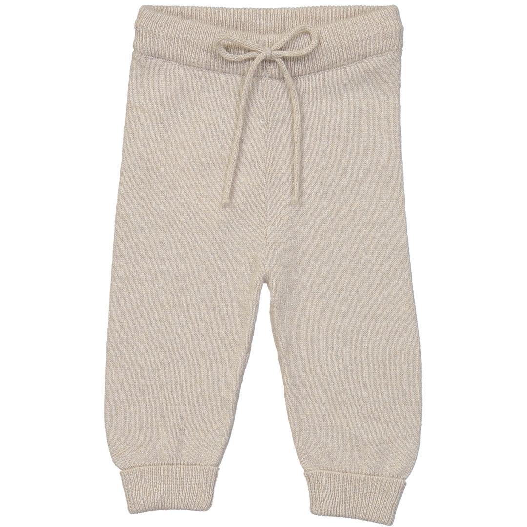 Pantalon BB - Paillete Blanc-1