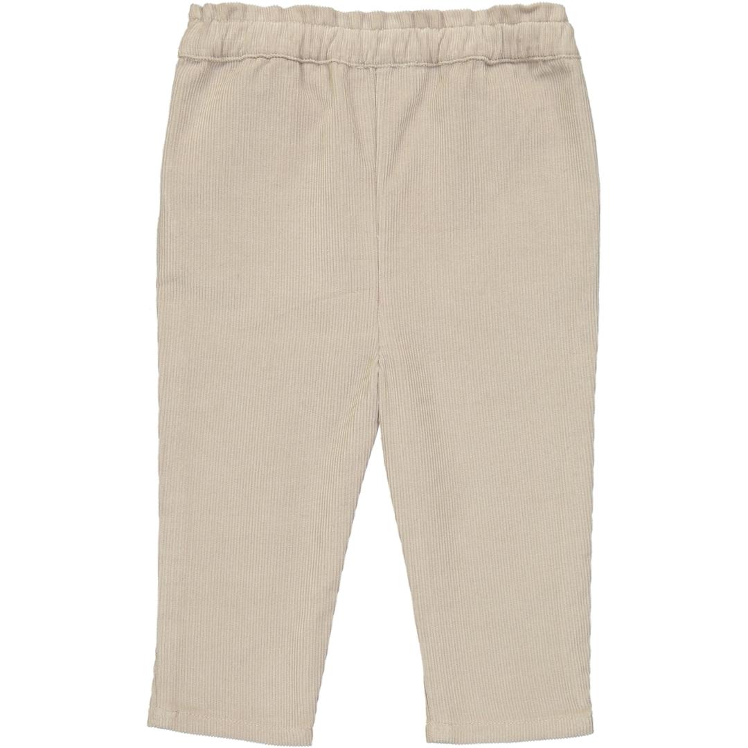 Pantalon Velours BB Girl - Sable-2