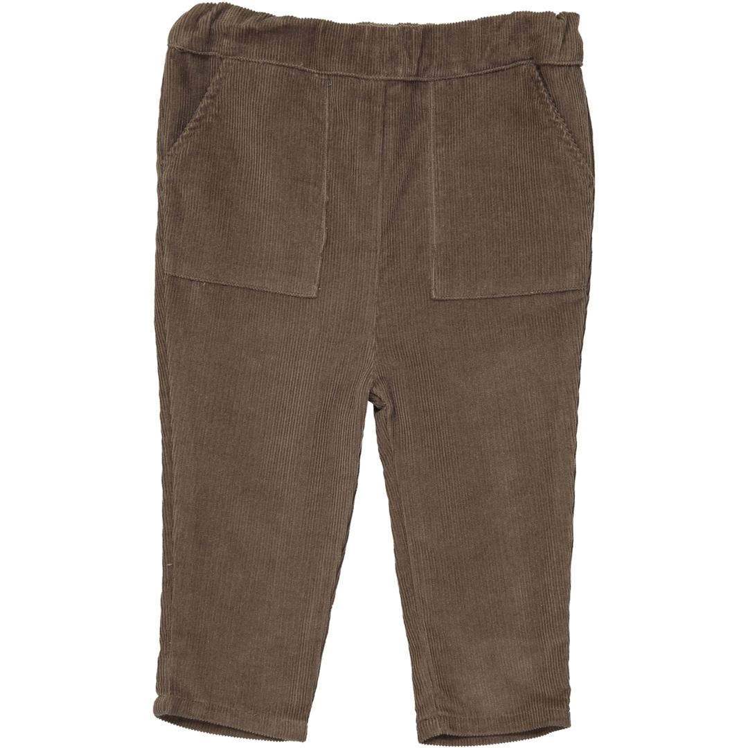 Pantalon velours BB Boy - Taupe-1
