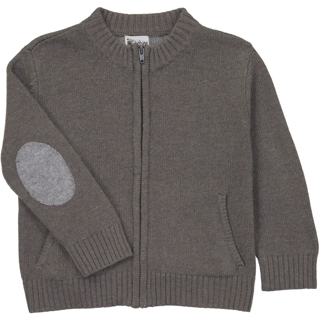 Gilet Col montant - Taupe-2