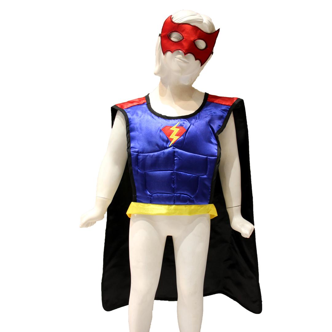 Cape-reversible-batman-spider-man-bleu