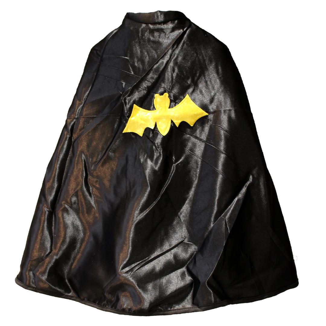 Cape Spiderman-Batman-noir