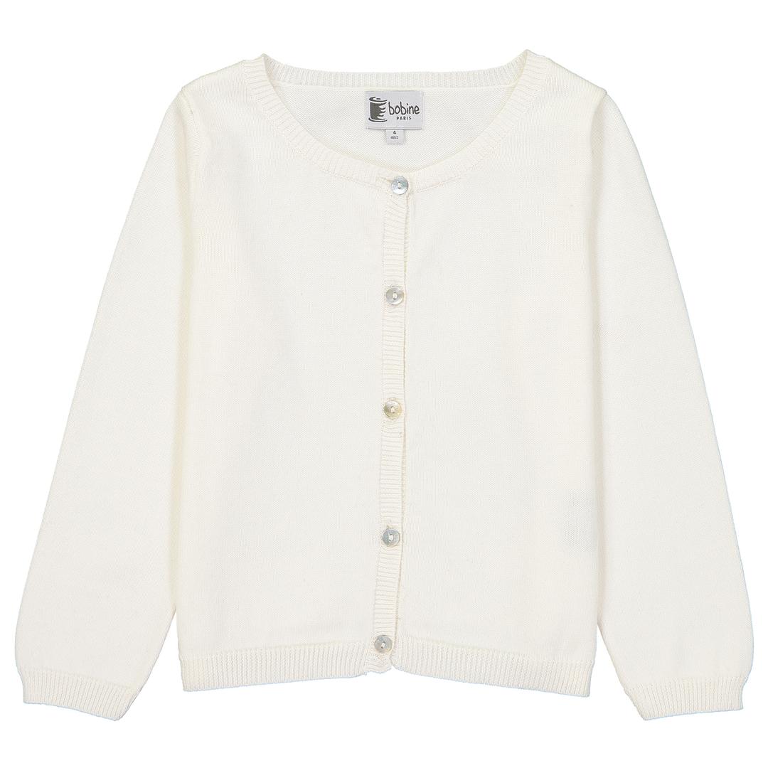 Cardigan-blanc-bobine