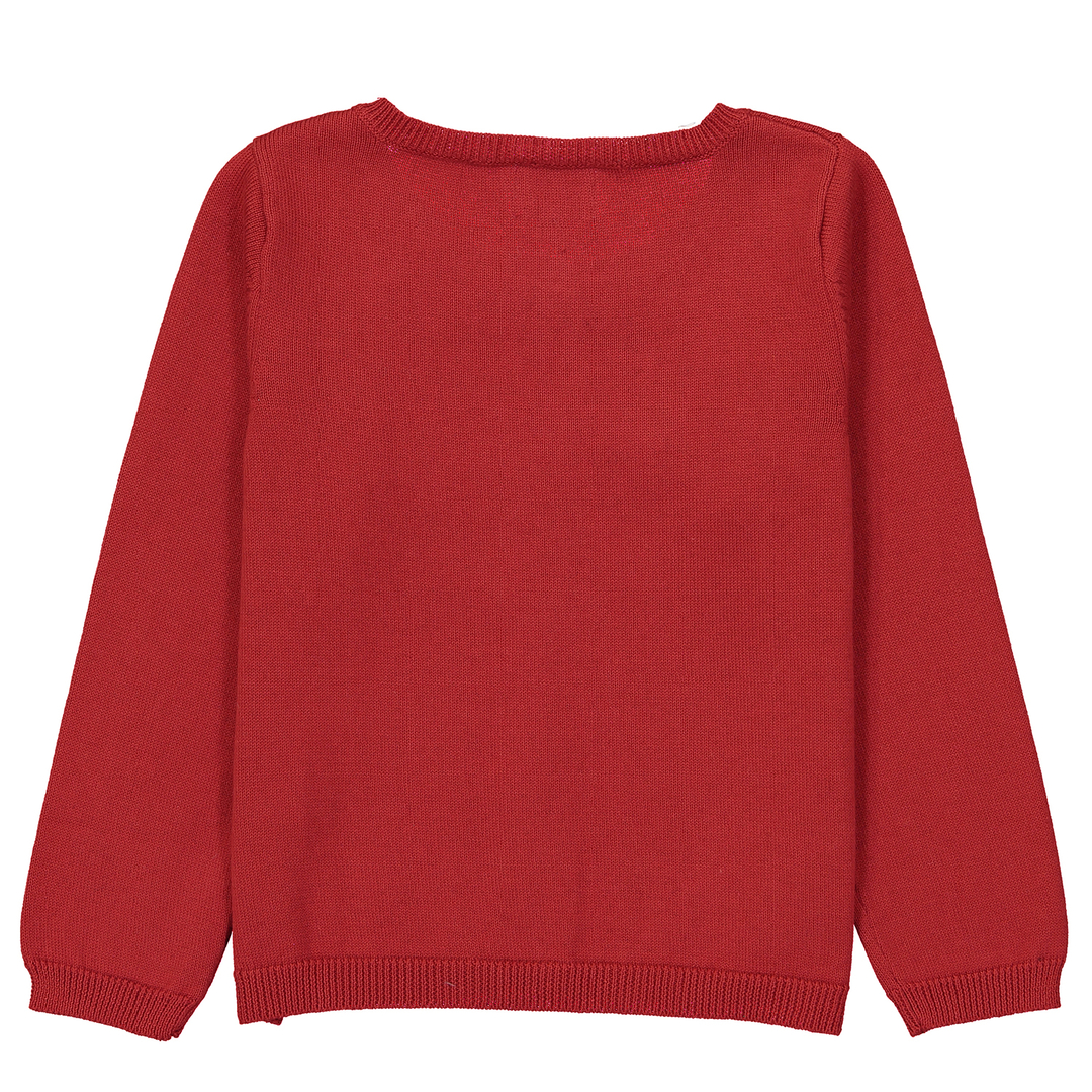 Cardigan-Fille-Rouge-dos