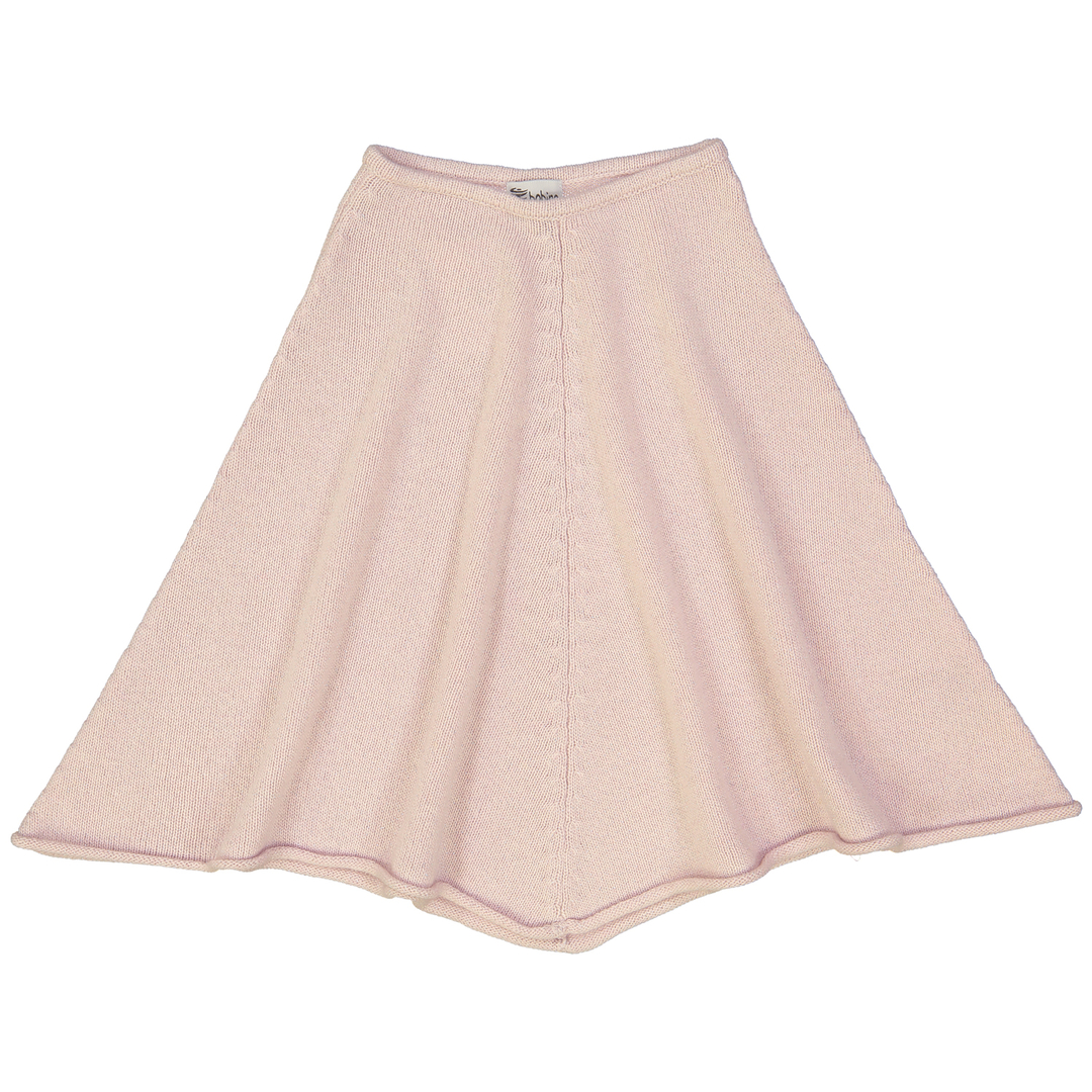 Poncho-Fille-Sirio-Rose-argent