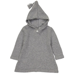 Burnous Zip - Gris-1