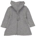 Burnous Zip - Gris-2