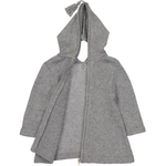 Burnous Zip - Gris-3