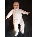 combinaison-bébé-fille-rose-coton
