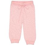 pantalon-bébé-laine-rose