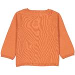 cardigan-bébé-orange-dos