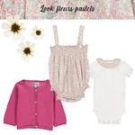 Look 2 - Fleurs pastels
