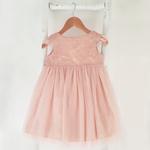 Robe-paillettes-rose-nude-sequins-princesse-fetes
